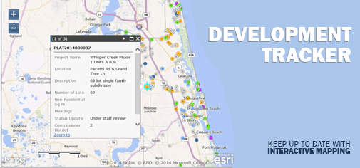 http://www.sjcfl.us/DevelopmentReview/DevTracker.aspx